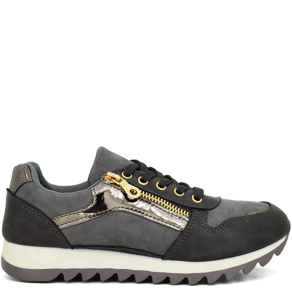 HoH-W17616 ΓΚΡΙ SNEAKERS