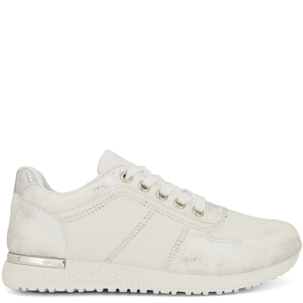 HoH-S1845 ΛΕΥΚΑ SNEAKERS